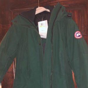 NWT small green Canada goose jacket